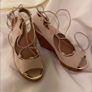 Qupid Wedge Sandals Size 10